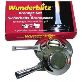 WUNDERBLITZ SET FIRE LIGHTER WITH FUEL PASTE
