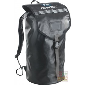 50 LT BLACK PVC BACKPACK