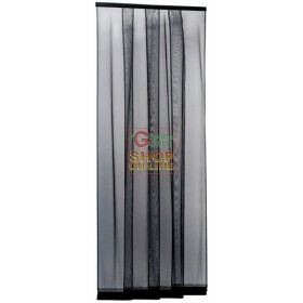 ANTHRACITE STRIPED MOSQUITO NET 4 BANDS CM.100X250