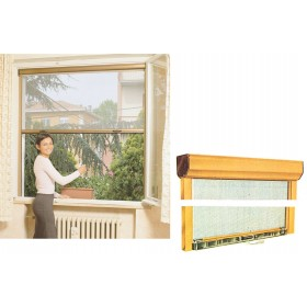 IRS-CE MOSQUITO NET IVORY RAL 1013 CM. 80X170