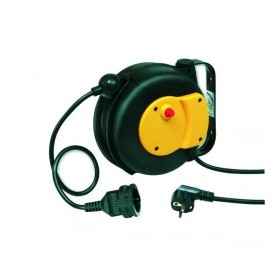 ZECA ELECTRIC CABLE REEL WITH AUTOMATIC RETURN MT. 6