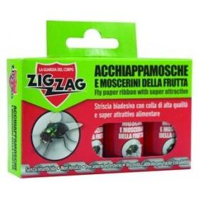 ZIG ZAG INSECTICIDE CATCHER FLIES AND FRUIT FLIES 4 STRIPES