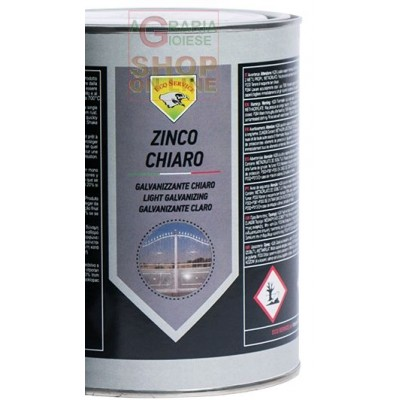 ZINCO CHIARO LIQUIDO PROTETTIVO ANTIRUGGINE KG. 1