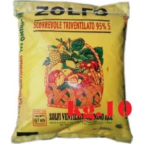TRIVENTILATED SLIDING YELLOW SULFUR 95% KG. 10 MANNINO