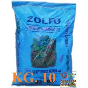 VENTILATED COPPER SULFUR 5% KG. 25 MANNINO