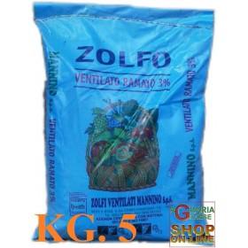 VENTILATED COPPER SULFUR 5% KG. 5 MANNINO