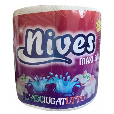 NIVES THE DRYER ROLL MAXI 500 TEARS