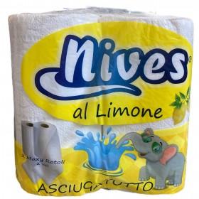 NIVES MAXI LEMON PERFUME TOWEL 2 ROLLS