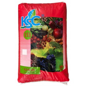 TIMAC KSC III WATER-SOLUBLE FERTILIZER WITH CHELATED MICROELEMENTS NPK 15.5.35 KG. 25