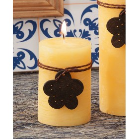 SCENTED CANDLE Diam. Mm. 5x7.5h. ASSORTED COLORS