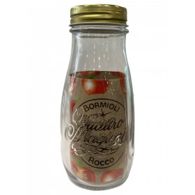 BORMIOLI FOUR SEASONS GLASS BOTTLE WITH CAP DIAM. MM. 53 cl. 40
