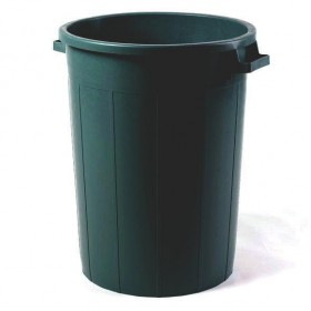 BLACK BIN WITHOUT LID LT.120