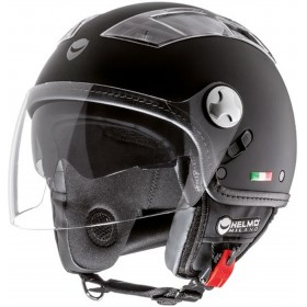 HELMO MOTORCYCLE HELMET TURBINE DEMI-JET WITH VISOR SIZE S TO XL