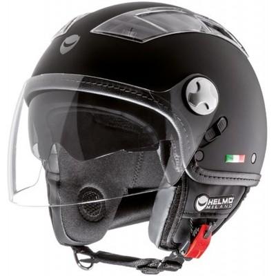 HELMO MOTORCYCLE HELMET TURBINE DEMI-JET WITH VISOR SIZE S TO XL