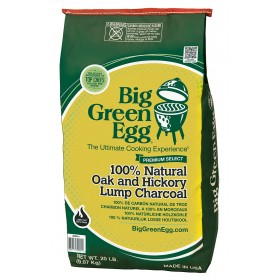 Big Green Egg Sack Organic Vegetable Charcoal in pieces kg. 9.07