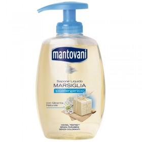 MANTOVANI SAPONE LIQUIDO MANI MARSIGLIA IPOALLERGENICO CON GLICERINA NATURALE ML. 300