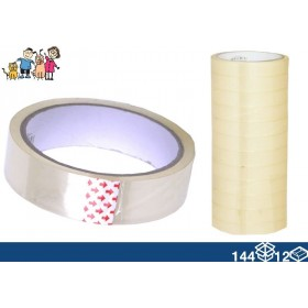NARROW TRANSPARENT TAPE ROLL OF mt. 40