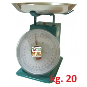 OLD STYLE HOME SCALE WITH ALUMINUM PLATE KG. 20