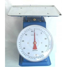 KITCHEN SCALE WITH STEEL PLATE OLD STYLE SUPRELLE KG. 50 PLATE