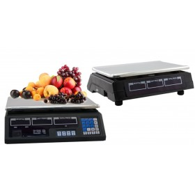 PRECISION DIGITAL ELECTRONIC SCALE WITH WEIGHT AND PRICE CALCULATION KG. 40
