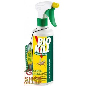 BIOKILL INSECTICIDE FLIES CRAWLING MOSQUITOES MOTH DISPENSER ML. 500