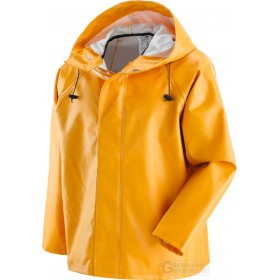 PVC FISHERMAN JACKET WITH COTTON AND POLYESTER SUPPORT SIZE MA
