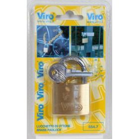 VIRO ART. 551.7 LUCCHETTO RETTANGOLARE MM. 20