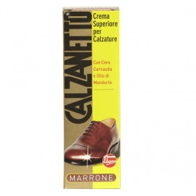CALZANETTO CREMA CALZATURE MARRONE TUBO ML. 50