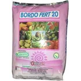 BORDOLESE BORDO FERT 20 CONCIME FOGLIARE A BASE DI RAME E BORO KG. 3