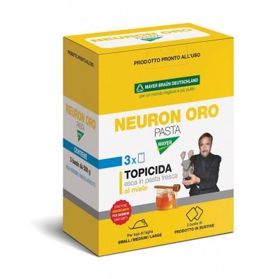 NEURON TRIS PASTA ESCA FRESCA AL MIELE VELENO PER TOPI TOPICIDA kg. 1,5