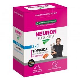 NEURON TRIS PASTA ESCA FRESCA AL SALMONE VELENO PER TOPI TOPICIDA BIOCIDA BROMADIOLONE kg. 1,5