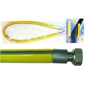 TUBO PER GAS INOX UNICOOKER ATTACCO 1/2 POLL F/F EN14800 CM. 100