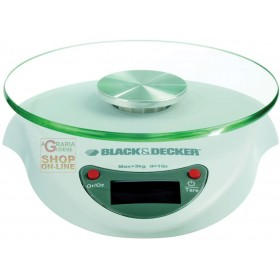BLACK AND DECKER ART. SK2020 ELECTRONIC DIGITAL SCALE KG. 3