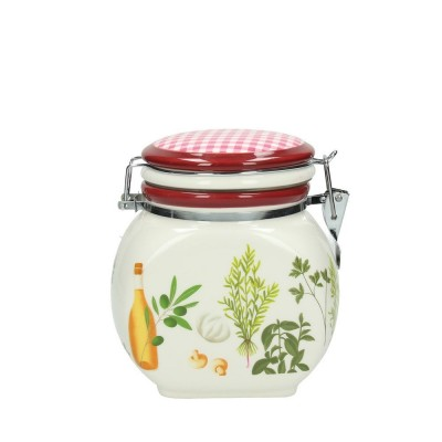 TOGNANA BARATTOLO IN VETRO Jar Cc 1200 Herbes