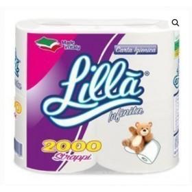 FOSCART LILLA' INFINITA carta igienica 2 VELI 4
