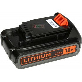 BLACK AND DECKER LITHIUM BATTERY 18V 2Ah MOD. BL2018