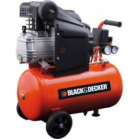 BLACK AND DECKER COMPRESSOR 220V Mod. BD 205/24 HP. 2.0 LT. 24