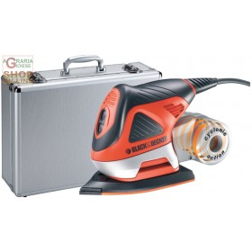 BLACK AND DECKER MULTIFUNCTION SANDER KA270MET WITH CASE