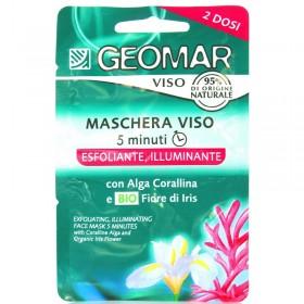 GEOMAR MASCHERA VISO 5 MINUTI ESFOLIANTE ILLUMINANTE 15 ML