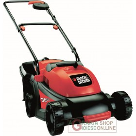 BLACK AND DECKER ELECTRIC LAWN MOWER 1000 WATT CM. 31 GR3000-QS