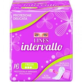 LINES INTERVALLO PROTEGGISLIP RIPIEGATI FRESH 16 PZ.