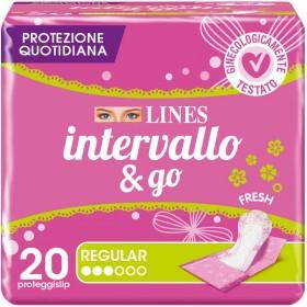 LINES INTERVALLO RIPIEGATI FRESH 20 PZ. SALVASLIP