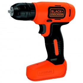BLACK AND DECKER BATTERY DRILL SCREWDRIVER 1,5 AH 7,2V LITHIUM MOD. BDCD8