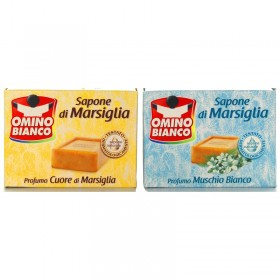 OMINO BIANCO SOAP MARSEILLE 250GR C / MIX