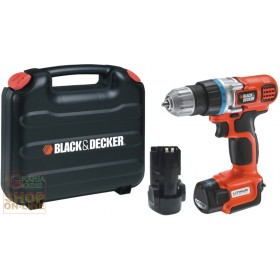 BLACK AND DECKER LITHIUM BATTERY DRILL DRILL EGBL108KB-QW