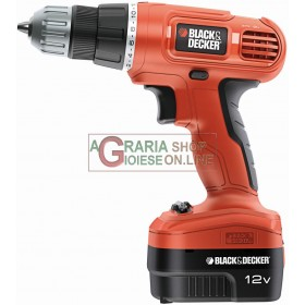 BLACK AND DECKER EPC12CAT22A 12V BATTERY DRILL DRIVER