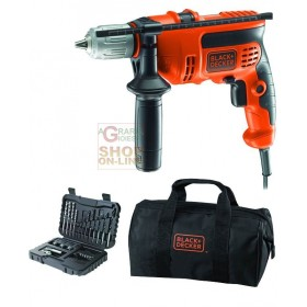 BLACK AND DECKER ELECTRIC IMPACT DRILL WITH KR714S32-QS SET-32 WATT. 710