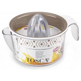 Spremiagrumi Tosca manuale graduato Bianco/Tortora chiaro cm.