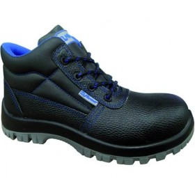 HU-FIRMA CLASSIC SAFETY SHOES HIGH BLACK SIZE 38 TO 47