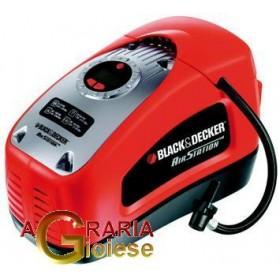 BLACK DECKER AIR COMPRESSOR FOR CAR ASI300 POWERED 12-220 VOLT